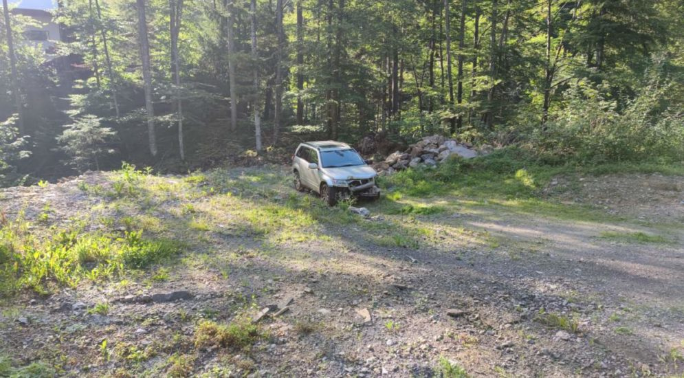 Isenthal UR: Heftiger Unfall wegen medizinischem Problem
