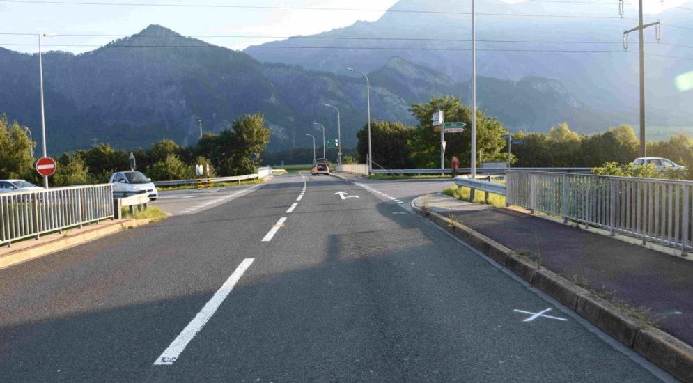 Bad Ragaz: Lenker bei schwerem Unfall von Roller geschleudert