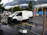 Chur: Junglenker baut heftigen Unfall
