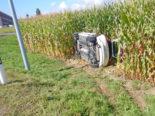 Münsterlingen: Bei heftigem Unfall im Maisfeld gelandet