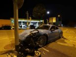St.Gallen: Junge Autofahrerin baut Unfall mit Porsche