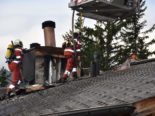 Arosa GR: Kamin in Ferienhaus gerät in Brand