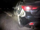 Unfall in Mollis GL: 18-jähriger Motorradfahrer prallt in Auto