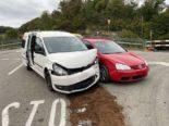 Ramlinsburg BL: PW nach Unfall massiv beschädigt