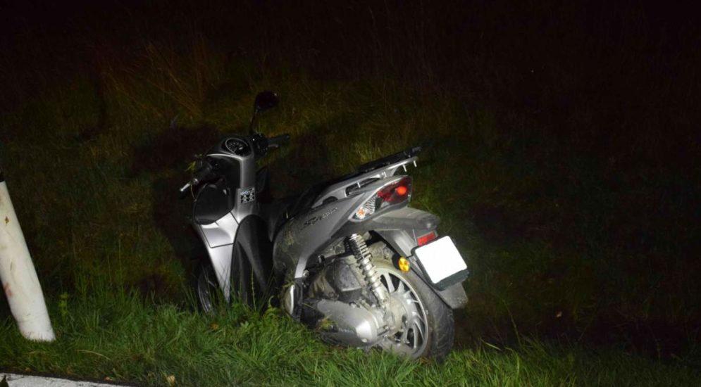 Heiden AR: Rollerfahrerin stürzt bei Unfall und verletzt sich