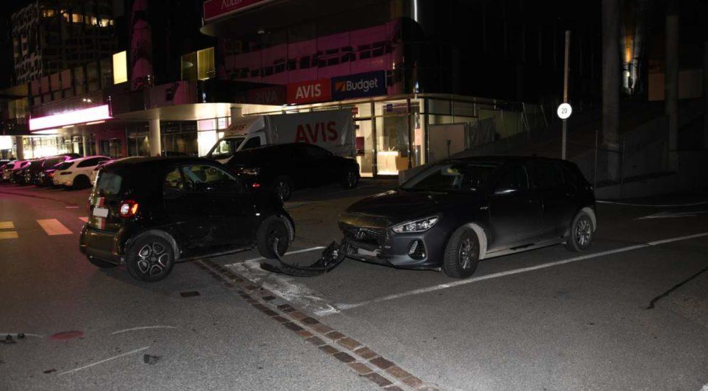 Chur GR: Grosser Sachschaden nach Unfall