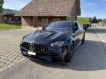 Mercedes-Fahrer brettert massiv zu schnell durch Urnäsch AR