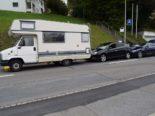 Unfall Herisau AR - Drei beteiligte Fahrzeuge