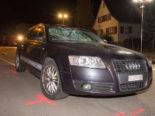Hefenhofen TG: Fussgänger von PW erfasst und schwer verletzt