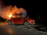 Schlattingen TG: Brand in fahrendem Auto ausgebrochen
