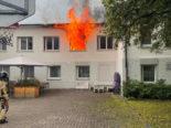 Littenheid TG: Brand in Klinik