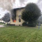 Oberentfelden AG: Vier Personen nach Brand im Spital