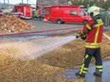 Gachnang TG - Brand in Getreidetrocknungsanlage