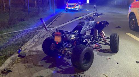 Unfall Frauenfeld TG: Quad-Fahrer (22) in Zaun geprallt und schwer verletzt