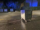 Dättwil AG: Drei Abfallcontainer angezündet