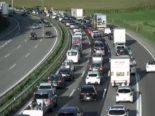 Unfall A1, Region Bern: Kilometerlanger Stau und Wartezeit