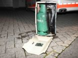 Brand in Flawil SG: Heizstrahler und Gasflasche in Garten geworfen