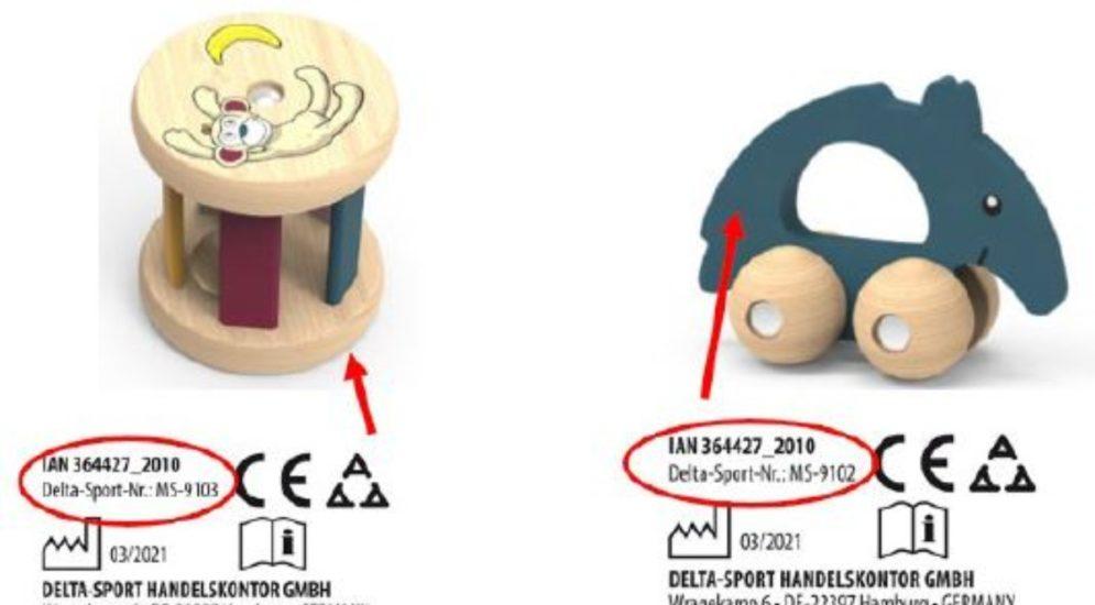 Schweiz: LIDL ruft Holzrassel und Baby-Greifling wegen Erstickungsgefahr zurück