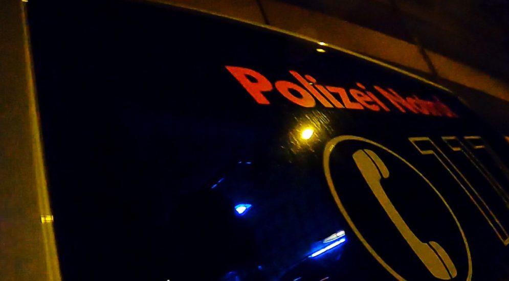 Stadt Luzern: Polizisten beschimpft und bedroht