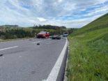 Schwerer Unfall in Menzingen ZG: Motorradlenker stirbt vor Ort