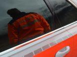 Gunten (Sigriswil) BE: Mann bei Unfall von Cabriolet erfasst