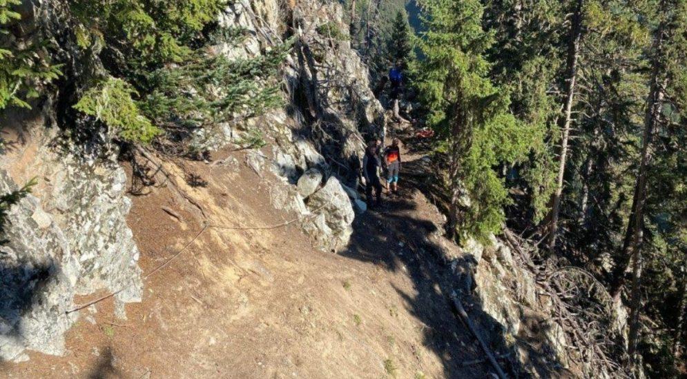 Verbier VS: Mountainbiker (31) prallt gegen Felswand und stirbt