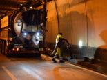 Gegenverkehr im Seelisbergtunnel