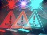 Sevelen SG - Heftiger Unfall mit mehreren Fahrzeugen
