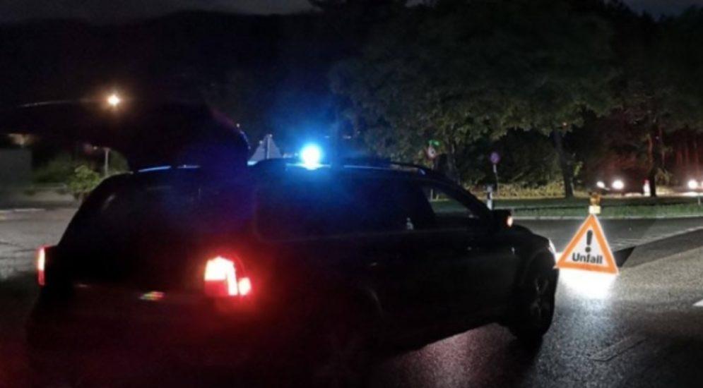 Hugelshofen TG: Lieferwagenfahrer baut wegen Sekundenschlaf Unfall