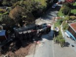 Unfall in Uetikon am See ZH: Lastwagen kippt beim Abladen