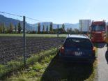 Maienfeld GR: Verlorene Stütze führt zu Schleuderfahrt und plattem Reifen