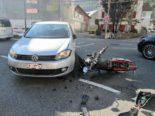 Näfels GL: Vortrittsberechtigter Motorradfahrer (16) bei Unfall verletzt