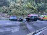 Sisikon UR: Fünf Personen bei Unfall teilweise erheblich verletzt