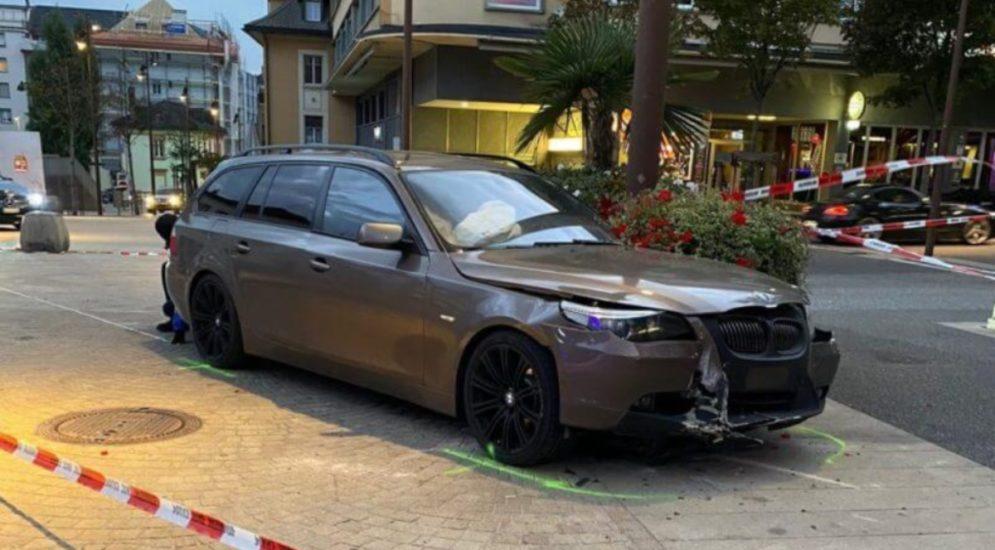 Unfall Siders VS: BMW-Lenker gefährdet Strassenverkehr