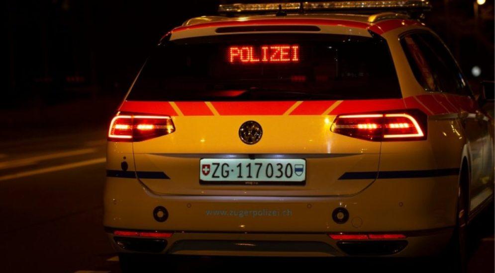 Zug: Autofahrer unter Kokain-Einfluss