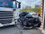 Wiedlisbach SO: Unfall mit drei beteiligten Fahrzeugen auf A1