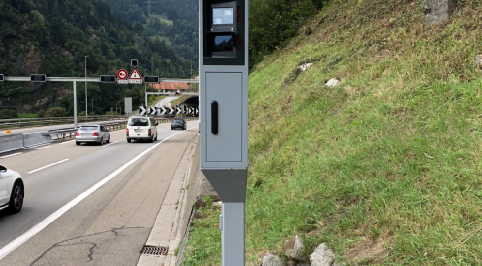 A2 Kanton Uri: Neue Geschwindigkeitsmessanlagen