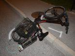 Granges-Paccot FR: Bei Sturz mit Elektrofahrrad schwer verletzt