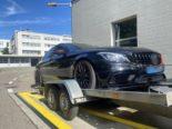 Basel: Tuningfahrzeug sichergestellt