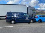A1 bei Wiedlisbach BE: Unfall mit drei Fahrzeugen fordert drei Verletzte