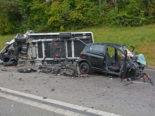 Unfall Roggwil TG: Vier Personen teils schwer verletzt